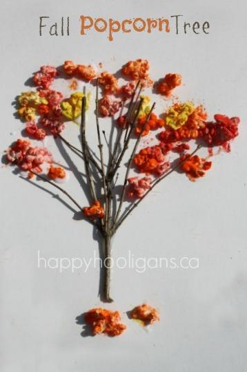 Fall Popcorn Tree