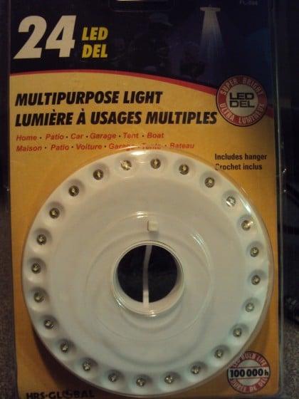 LED light for homemade light box