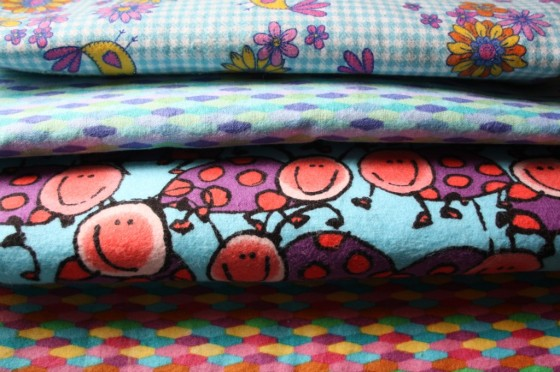 Fabric for Flannel receiving blankets