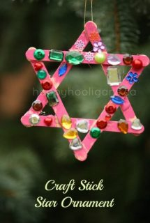 craft stick star ornament cover photo