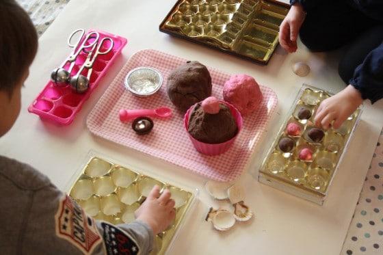 playdough chocolate shop