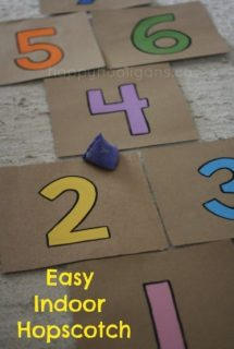 easy indoor cardboard hopscotch cover photo