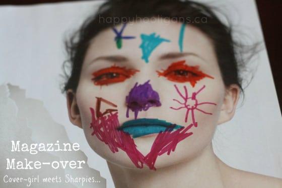 magazine make-over - cover photo