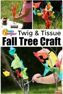 Fall Tree Craft Toddlers Preschoolers