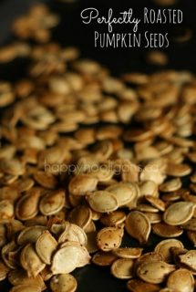 Perfectly Roasted Pumpkin Seeds
