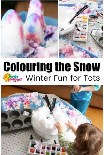 Colouring the Snow Activity for Presc