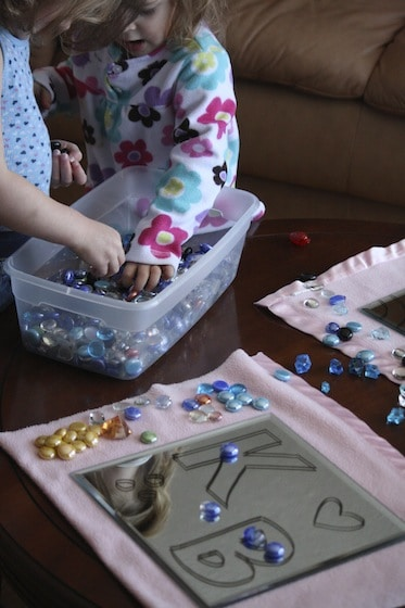 selecting beads for mirror and marker activity