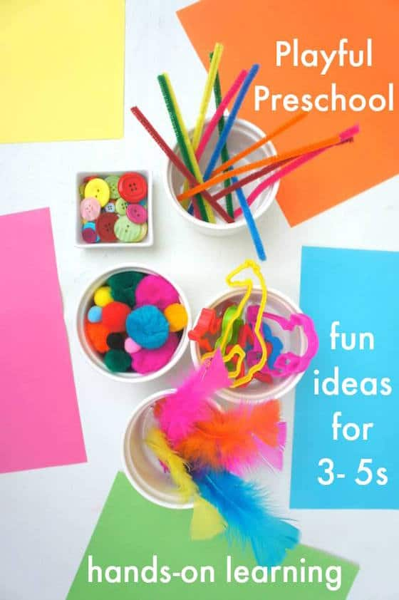 Three to Five Playful Preschool e-book -