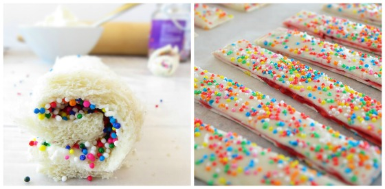 fairy bread and fairy sprinkle sticks