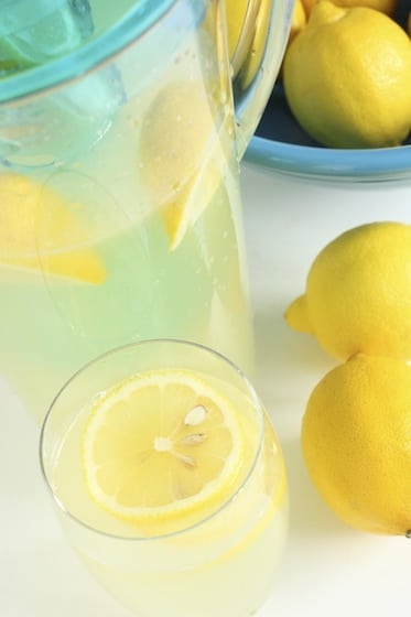 How To Make Homemade Lemonade In 3 Easy Steps Happy Hooligans