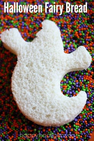 Halloween Fairy Bread