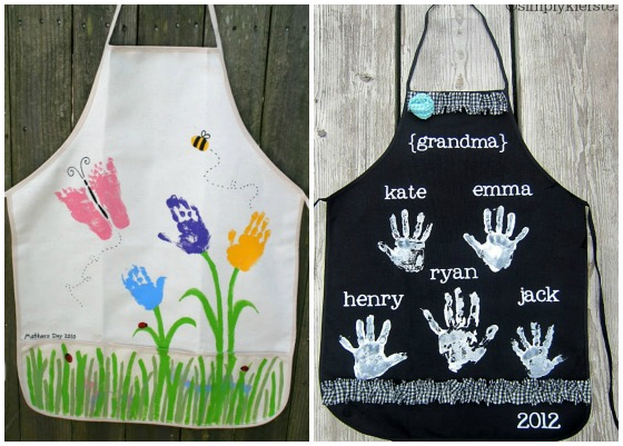 aprons kids can make and give