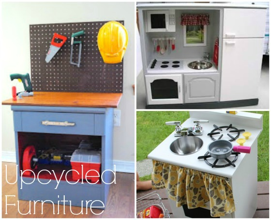 kids toys made from upcycled furniture