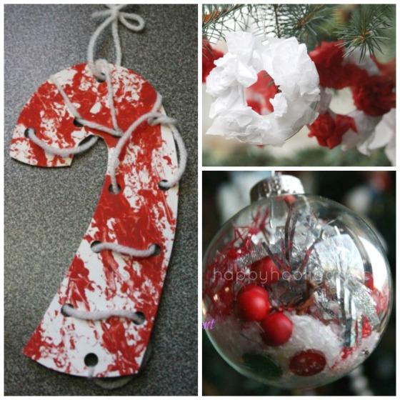 fine motor Christmas crafts