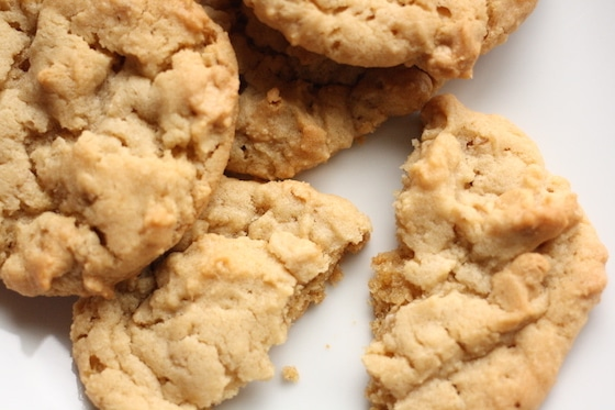 Recipe for Peanut Butter Maple Cookies
