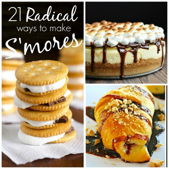 21 Radical Ways to Make Smores - smores cheesecake smores croissant