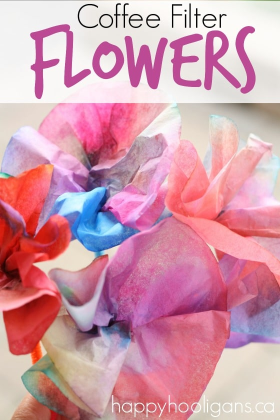 Coffee Filter Flowers - Happy Hooligans copy 3