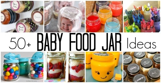 50 Fantastic Ways To Re Use Baby Food Jars Happy Hooligans