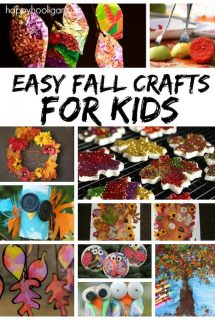Easy Fall Crafts for Kids - Happy Hooligans