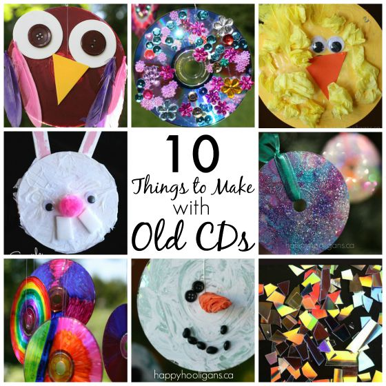 Things to Make with Old Cds
