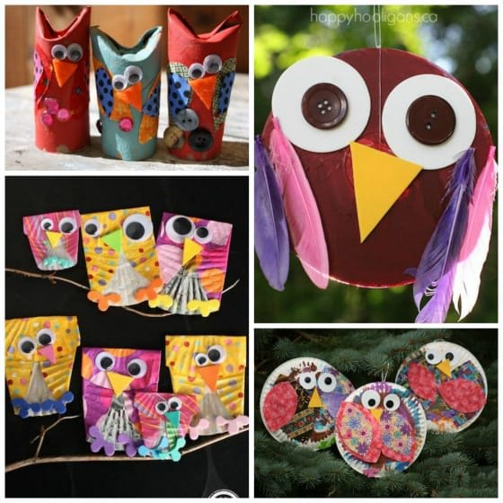 owl crafts that kids can make