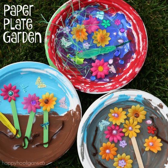 Paper Plate Garden Craft