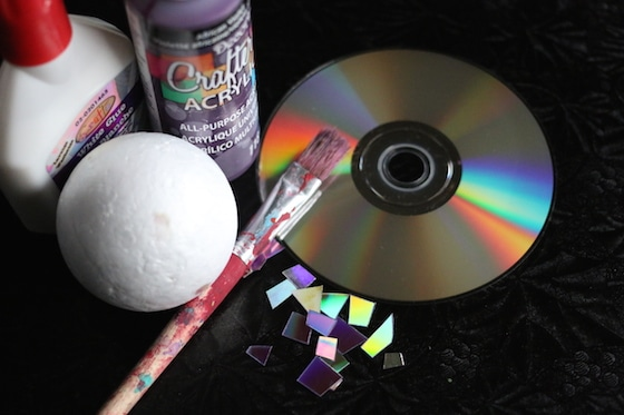 supplies for mosaic dvd ornaments