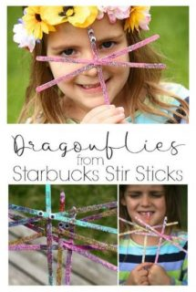 Stir Stick Dragonfly Craft by Happy Hooligans