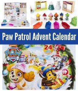 Paw Patrol Advent Calendar for Kids