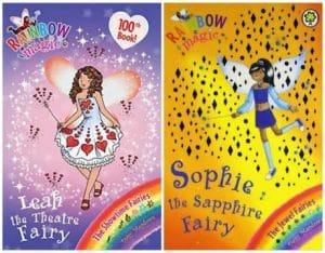 Rainbow Magic Series collage