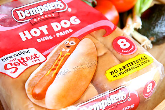 Dempster's Softest Ever Hot Dog Buns