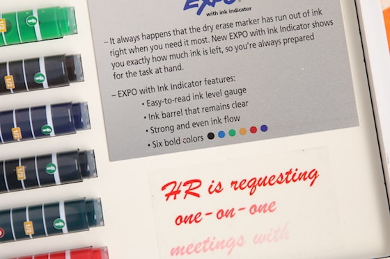 Expo Dry Erase with Ink Indicator