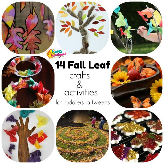 14 ways to play and learn with fall leaves