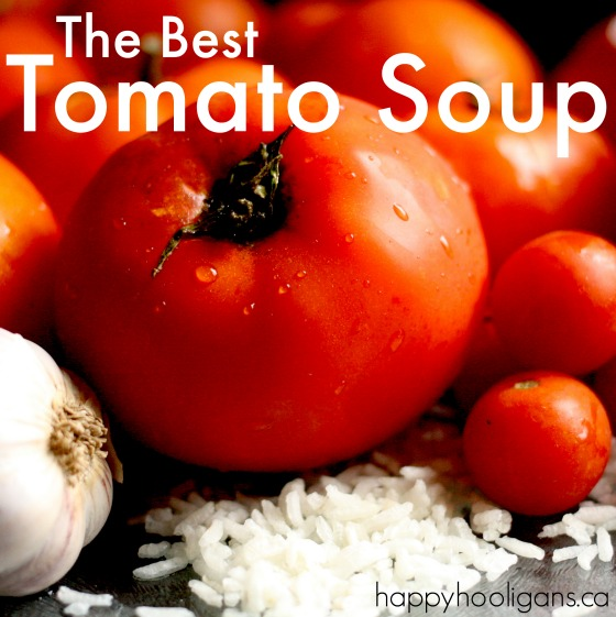 Homemade Tomato Soup Recipe from Scratch
