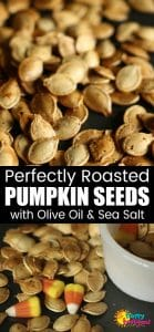 How to Roast Pumpkin Seeds with Olive Oil and Sea Salt