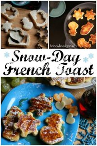 Snow Day French Toast Recipe for Kids