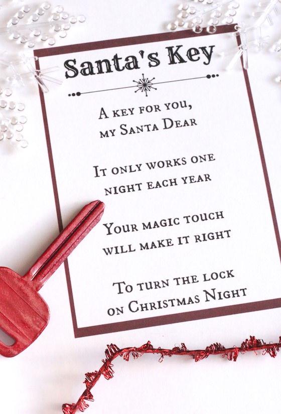 Santa's Key Poem