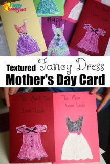 Fancy Dress Mother's Day Card - Featured Photo