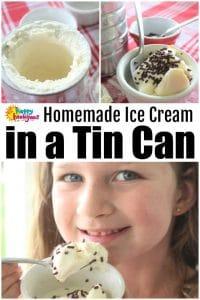 Homemade Ice Cream Homemade Vanilla Coffee Can Ice Cream - Happy Hooligans