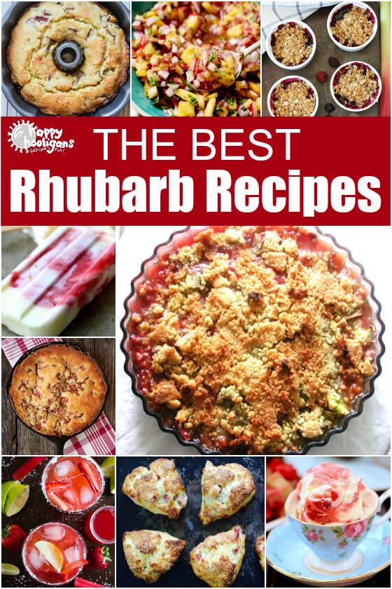 Best Rhubarb Recipes for Fresh Rhubarb