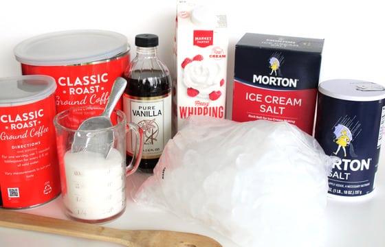 Salt, Sugar, Vanilla, Heavy Cream