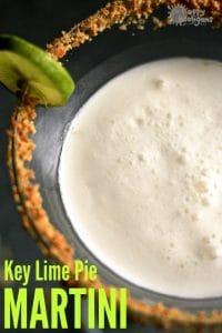 Key Lime Pie Martini Recipe - Happy Hooligans