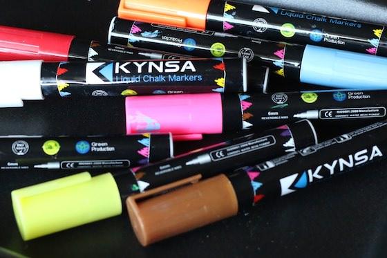 Variety of Kynsa Chalk Markers