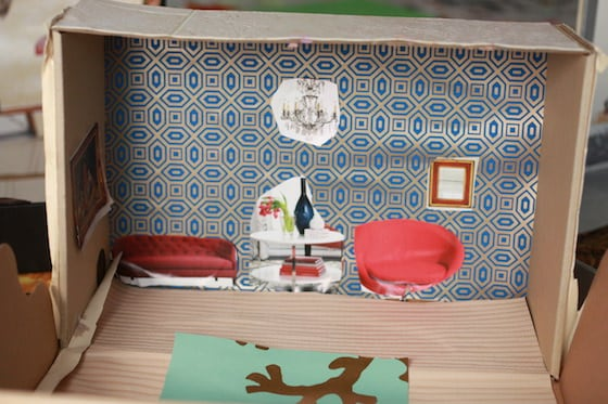 shoebox dollhouse decor