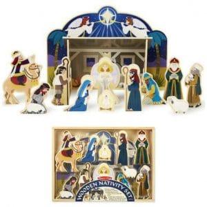 Melissa and Doug Wooden Nativity Set