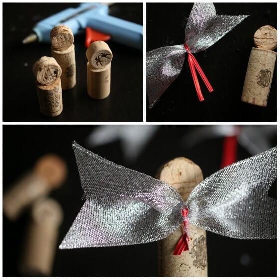 how to make cork angel