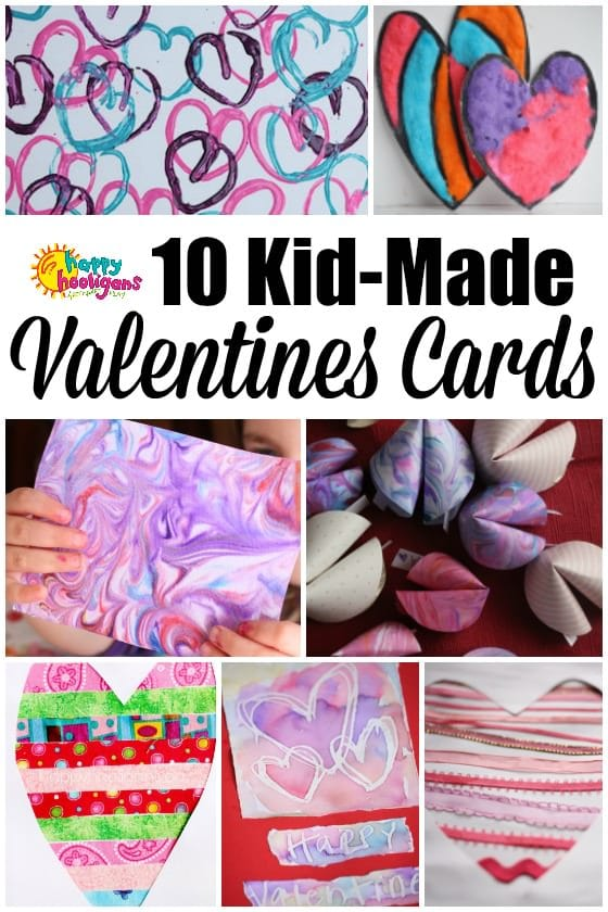 10 Valentines Cards for Kids