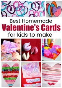 Homemade Valentines Cards for Kids