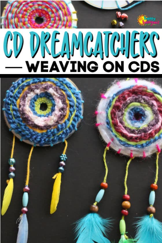 CD Dream Catchers for Kids ages 7+