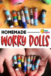 Homemade Worry Dolls Craft